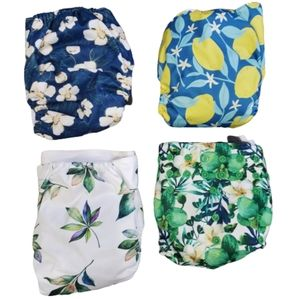Reseved Set of 9 Reusable diapers